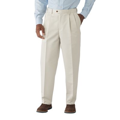 Updated Traveler's Twill Pleated Pants