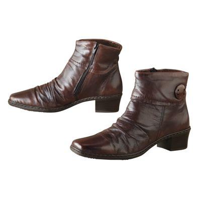 Rieker Kendra Button-Cuff Boots
