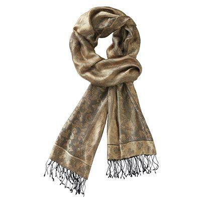 Ushma Gold Silk Wrap