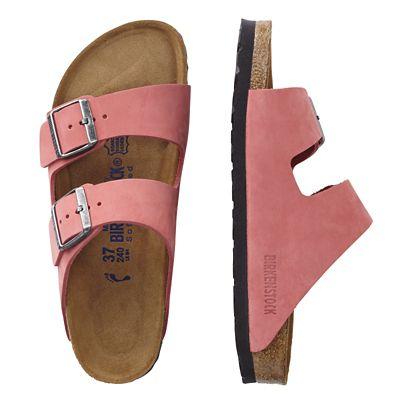 Birkenstock Nubuck Arizona Sandals