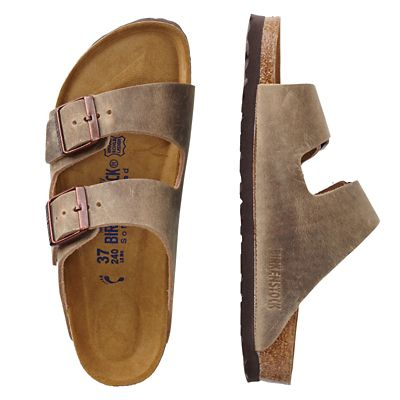 Women's Birkenstock Oiled-Leather Arizona Sandals