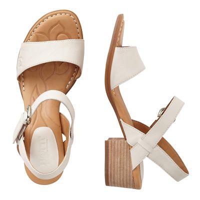 Born Doree Block Heel Sandals