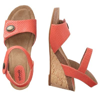 SoftWalk Jordan Wedge Shoes