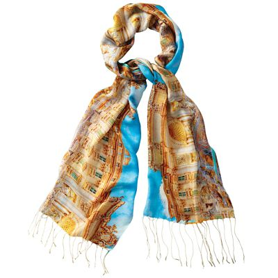 Samantha Brown by Tolani Trevi Silk Scarf