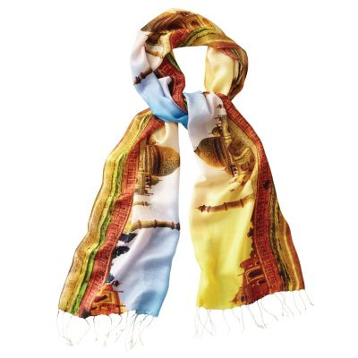 Samantha Brown by Tolani Taj Mahal Silk Scarf