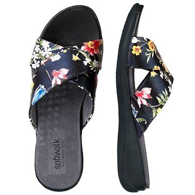SoftWalk Tillman Slide Sandals