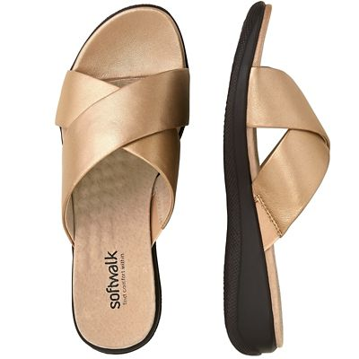 SoftWalk Tillman Slide Sandals