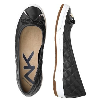 Anne Klein Tapio Quilted Sporty Flats