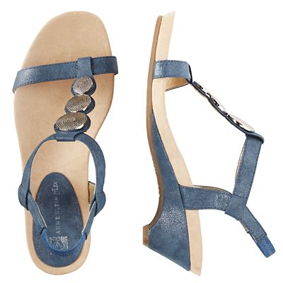 Anne Klein Tayla Coin Sandals