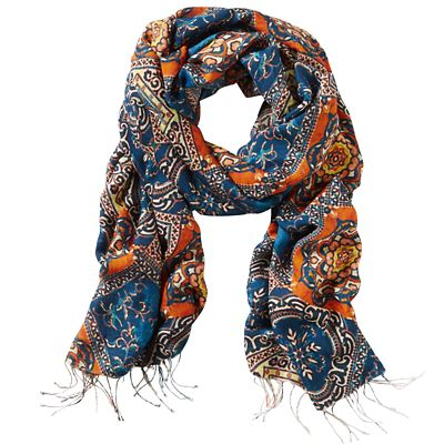 Tolani Mosaic Silk Scarf