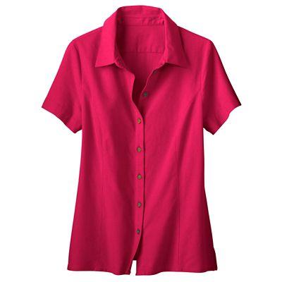 No-Hassle Linen Shirt