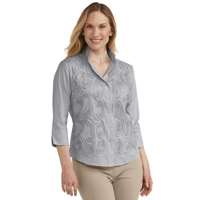 Plus Size Fiesta Shirt