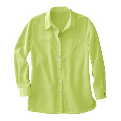 Full-Length Microfiber Big Shirt