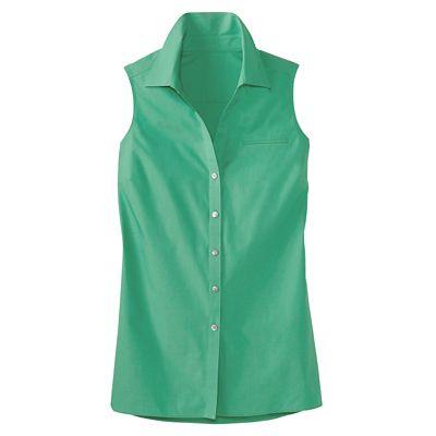 Foxcroft Non-Iron Sleeveless Tunic