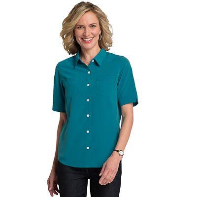 Microfiber Short-Sleeve Shirt