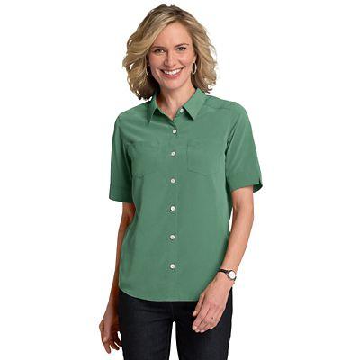 Women's Microfiber Short-Sleeve Shirt