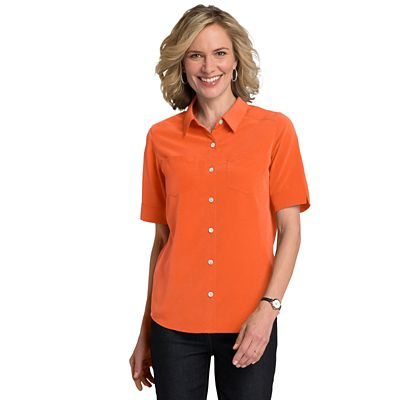 Microfiber Short-Sleeve Shirt