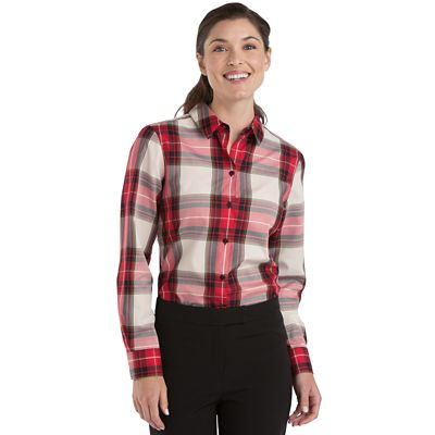 Foxcroft Wrinkle-Free Tartan Shirt
