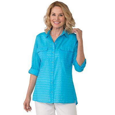Samantha Brown Travelweave Shirt