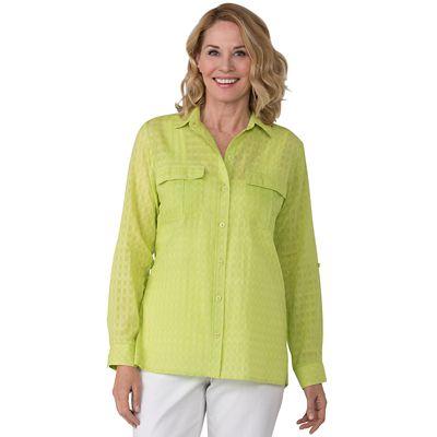 Plus Size Samantha Brown Travelweave Shirt