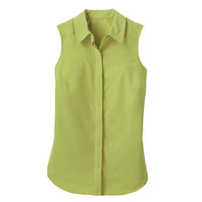 Microfiber Sleeveless Tunic