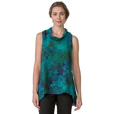 Monet Washable Silk Tunic