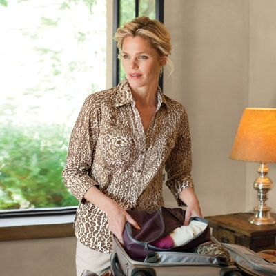 Foxcroft Wrinkle-Free Safari Shirt