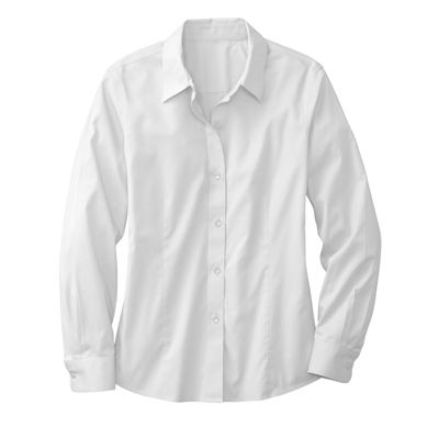 Foxcroft Cotton Stretch Non-Iron Shirt