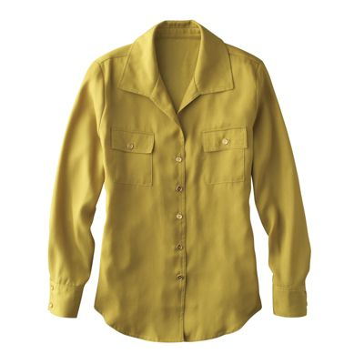 Dot-Wave Jacquard Shirt