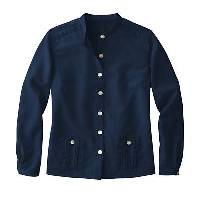 Microfiber Cropped Shirt