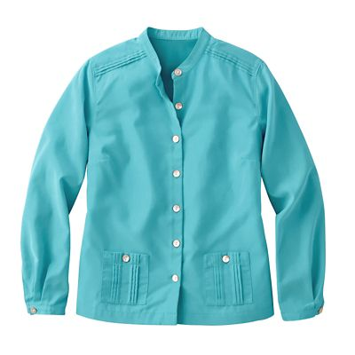 Women's Plus Size Plus Size Cropped Microfiber Shirt