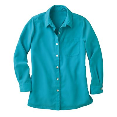 Full-Length Microfiber Big Shirt