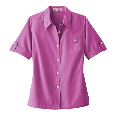 Short-Sleeve Microfiber Shirt