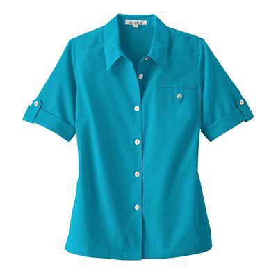 Short-Sleeve Microfiber Shirt