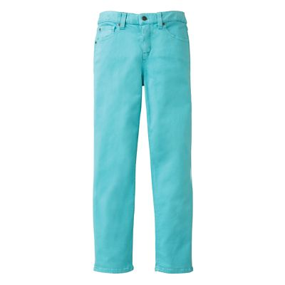 Classic Fit Miraclebody Ankle-Length Colored Jeans