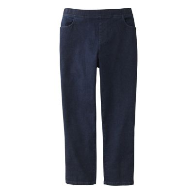 Original Fit Denim Pull-On Capris