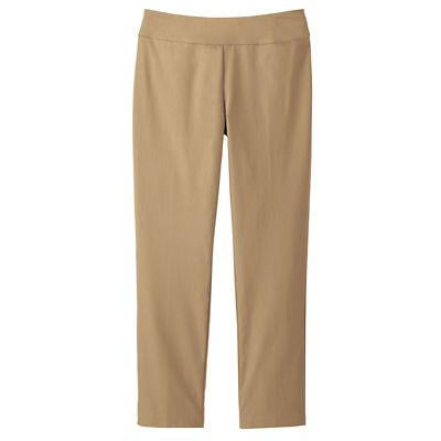 Classic Fit Easton Pull-On Ankle-Length Pants