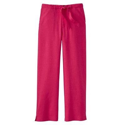 Original Fit New No-Hassle Linen Cropped Pants