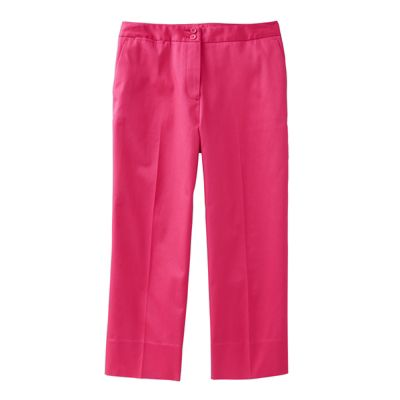 Original Fit Foxcroft Non-Iron Crop Pants