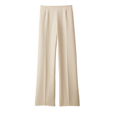 Plus Size Original Fit TravelFit Side-Zip Pants