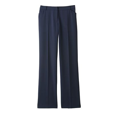 Plus Size Classic Fit TravelFit Fly-Front Pants