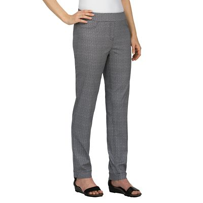 Classic Fit Slim-Sation Herringbone Pants