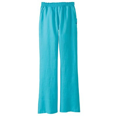 Classic Fit Margaritaville Smocked Linen Pants