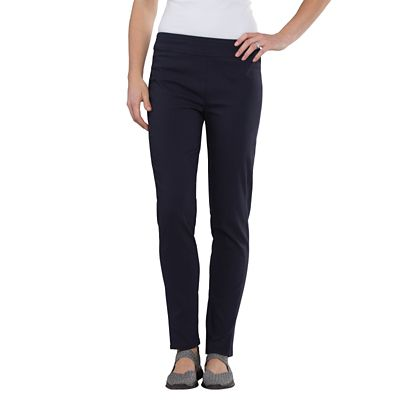 Classic Fit Samantha Brown Slim Leg Pull-On Pants