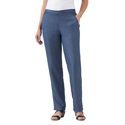 Classic Fit Tencel Denim Pants