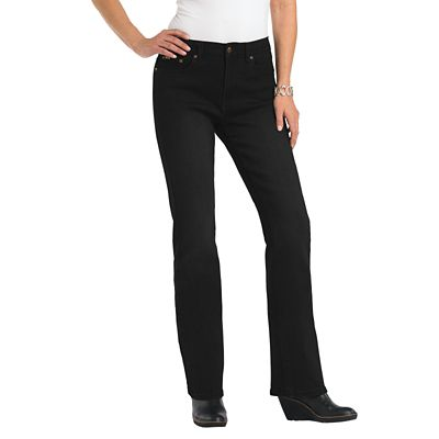 Women's Diane Gilman Classic Fit Superstretch Modern Bootcut Jeans