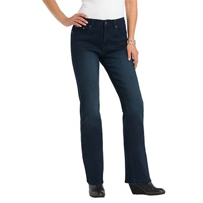 Classic Fit Diane Gilman Superstretch Modern Bootcut Jeans