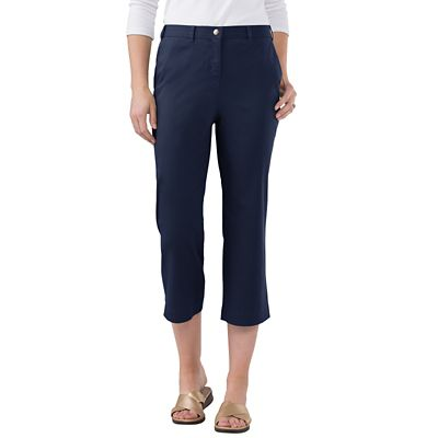 Original Fit Stretch Twill Cropped Pants