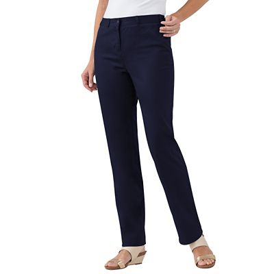 Plus Size Original Fit Colored Twill Pants