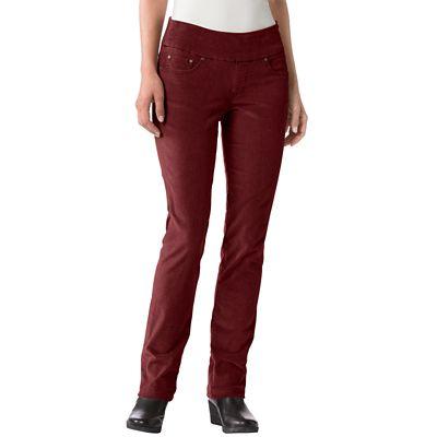 Plus Size Original Fit JAG Pull-On Corduroy Pants
